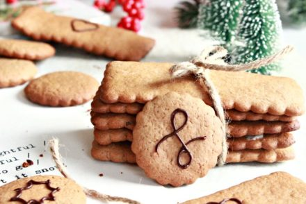 Recipe for delicious and easy orange-scented gingerbread cookies perfect for the Christmas cookie box.